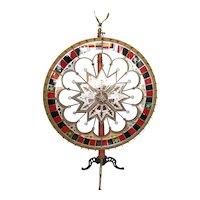 Antique Gambling Color Wheel H C Evans
