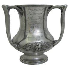 Antique Philadelphia Ice Cream Trophy Cup