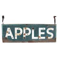 Vintage Ex Neon Apples Sign