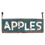 Vintage Ex Neon Apples Sign