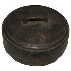 Antique Cast Iron Horse Weight