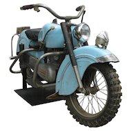 Vintage Indian Motorcycle Child's Amusement Ride