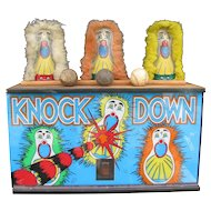 Vintage Carnival Punk Light Up Display Carnival Knockdowns
