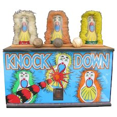 Vintage Carnival Punk Light Up Display Carnival Knockdowns