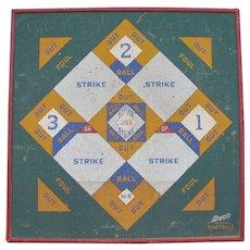 Vintage Baseball Dart Board Game Colorful