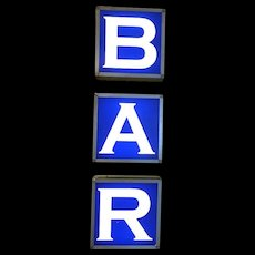 Vintage Bar Sign Corner Bar Philadelphia
