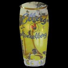 Vintage Porcelain Iron Belgium Beer Sign