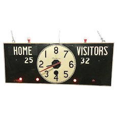 Vintage Basketball Score Board Working Condition