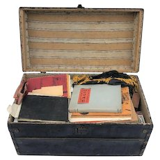 Vintage Magicians Magic Box of Tricks