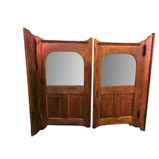 Antique Pair of Saloon Doors Wild West