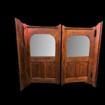 Antique Pair of Saloon Doors Wild West