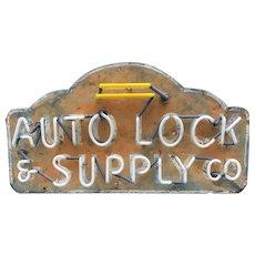 Vintage Automobile Supply Co. Neon Sign