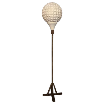 Vintage Giant Golf Ball On Stand Advertising Figurative Sign