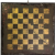 Antique Stenciled Tin Game Board Two Sided