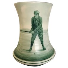 Antique Ceramic Golf Theme Stein
