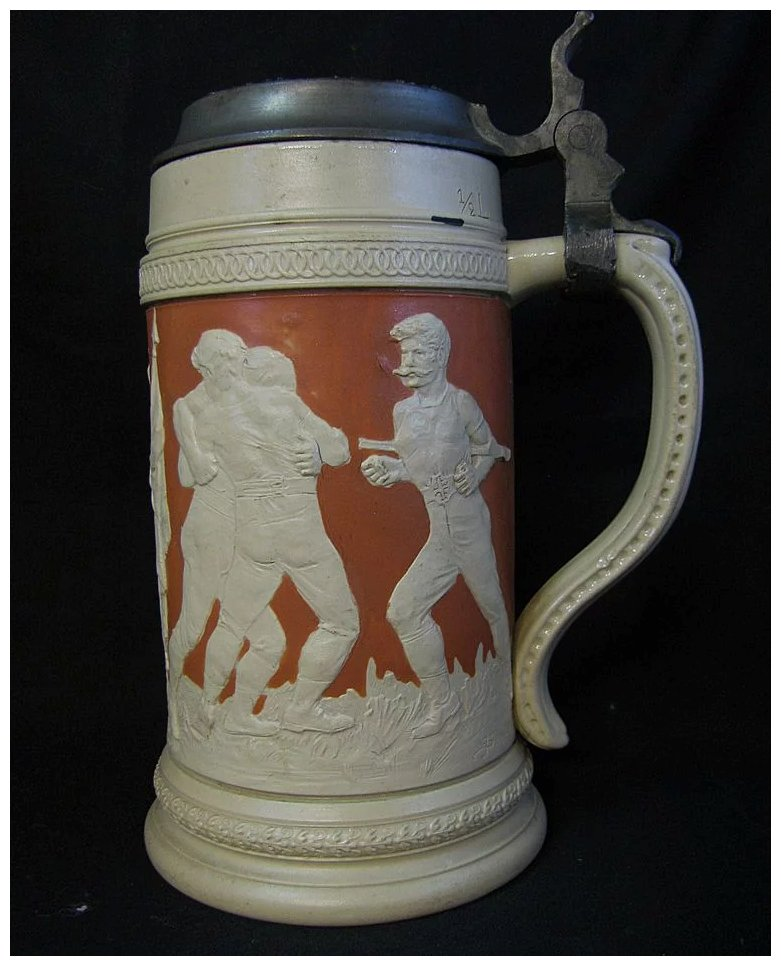 Vintage Olympic Sports Stein Finish Line Collectibles