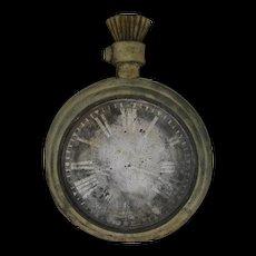 Antique Zinc Watch Makers Repair Trade Sign