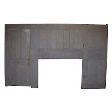 Antique Wooden Country Room End Wall