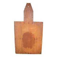 Vintage Large Wooden Bread Board Trade Sign