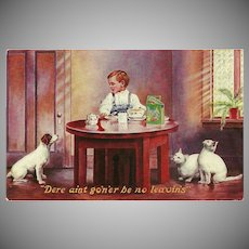 Vintage 1907 Advertising Postcard for Egg-O-See Cereal - Jamestown Exposition