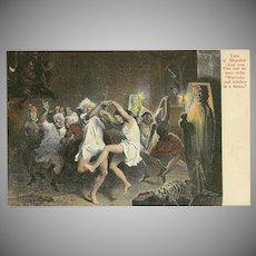 Tam O' Shanter Postcard of Dancing - 1 of 2