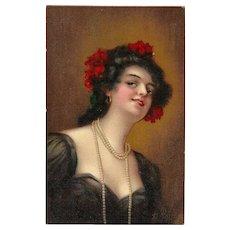 Raphael Tuck & Sons Connoisseur Series Postcard of Kathleen