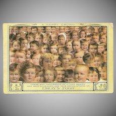 Advertising Postcard for Eskay's Baby Food
