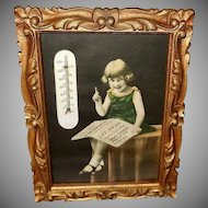 Advertising Thermometer for Swan's Furniture Store