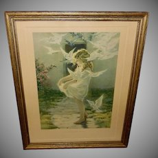 The Winged Aureole by Bessie Pease Gutmann