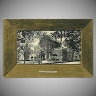 Rotograph Company 1907 Postcard of the John Milburn Residence in Buffalo NY