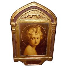 Gesso Duro Plaque Regal Art Company - Jesus Light of the World