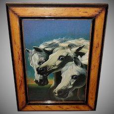 Pharaoh's Horses Vintage Print by Herring