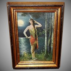 Charles Relyea Small Indian Maiden Calendar Print