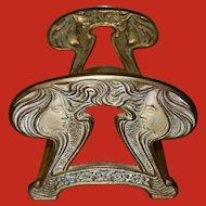 Judd Expandable Sliding Art Nouveau Style Ladies Bookrack