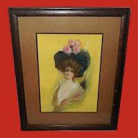 J. Ross Bryson Vintage Print of Alice