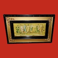 Peruzzi Small Vintage Print of the Muses
