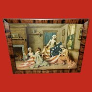 Vintage Print Betsy Ross Birth of Flag by Henry Mosler