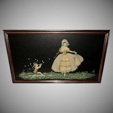 Marygold Vintage Print of Spring's Love Song