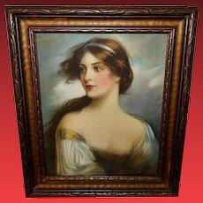 Lorna Doone Vintage Print by Haskell Coffin