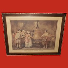 JLG Ferris Vintage Print of The Liberty Bell