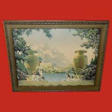 Chester Van Nortwick Art Deco Style Print of Magic of Dawn