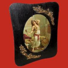 Francesco Ballesio Vintage Print of Orientalist Gypsy Dancer
