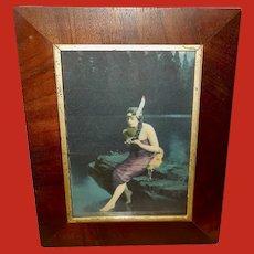 James Arthur Vintage Print of Indian Maiden Minnehaha