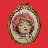 F. Earl Christy Vintage Print of Lovely Lady