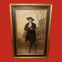 Gilbert Stuart Vintage Print of The Skater