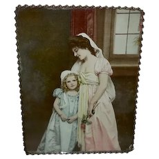Flue Cover of Mother and Daughter 1901 Chicago