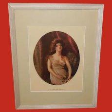 James Arthur Vintage Print of Lucile