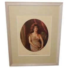 James Arthur Vintage Print of Lucile