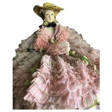 """""""Alberani"""" Lenci type era. Italian lady doll"""