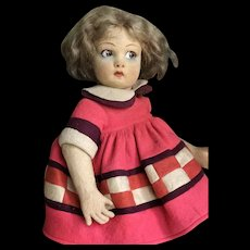 Sweet all original lenci 450 doll